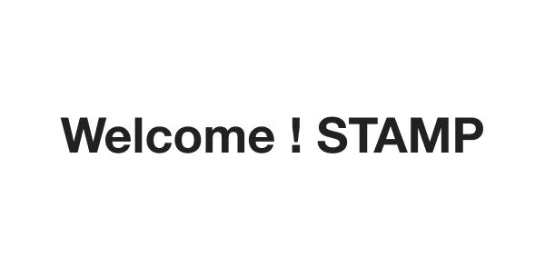Welcome! STAMP